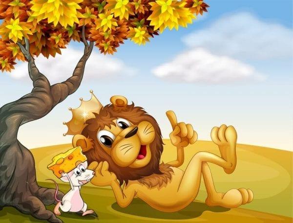 האריה והעכבר- טעימה מתוך הספר משלי איזופוס על הבמה
